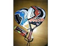 Paddle tennis set