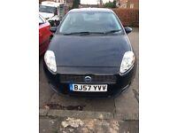 Low mileage fiat sport , punto dark blue lovely little car