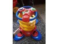 Spiral speedway playset from Fisher-Price