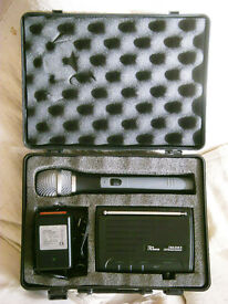 UHF TWS One A Vocal Wireless Microphone In Good Working Condition.