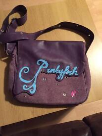 Purple punkyfish bag