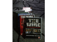 'The Wire' and 'The Shield' DVD box sets, £15 each.