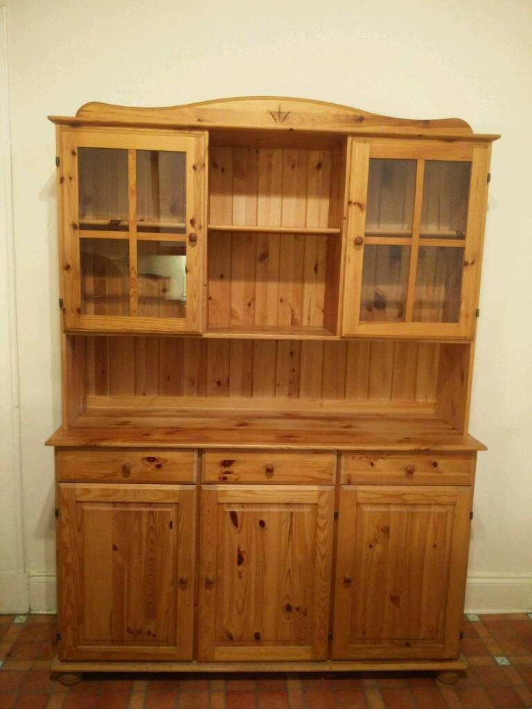 Solid Pine Ikea Welsh Dresser