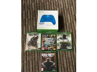 Xbox One Games and controller bundle