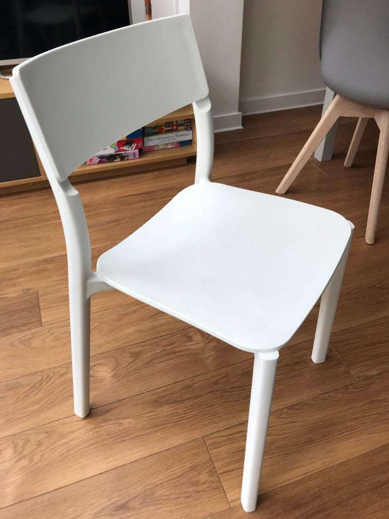White Desk Chair Ikea In Epsom Surrey Gumtree