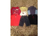 Baby boys 9 month old clothes incl. Ralph Lauren