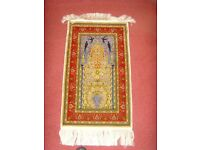 HAND MADE Oriental Silk Rug