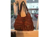 Genuine tan leather Mulberry Bag