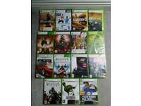 Xbox 360 + kinect + 15 games
