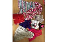 Bundle of clothes girls age 8 years