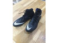 Hypervenon Nike Sock Boots Size 4 £50 Was £150