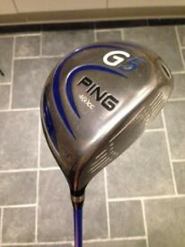 Ping G5 driver 9 degree
