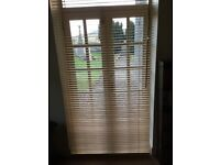 WOODEN VENETIAN BLINDS, 3 SETS, PERFECT CONDITION, ALL FITTINGS INCLUDED