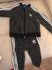 Baby boy addidas tracksuit