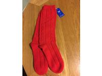 100% Cashmere Socks - New