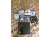 PlayStation 4 , x6 games , x1 controllers