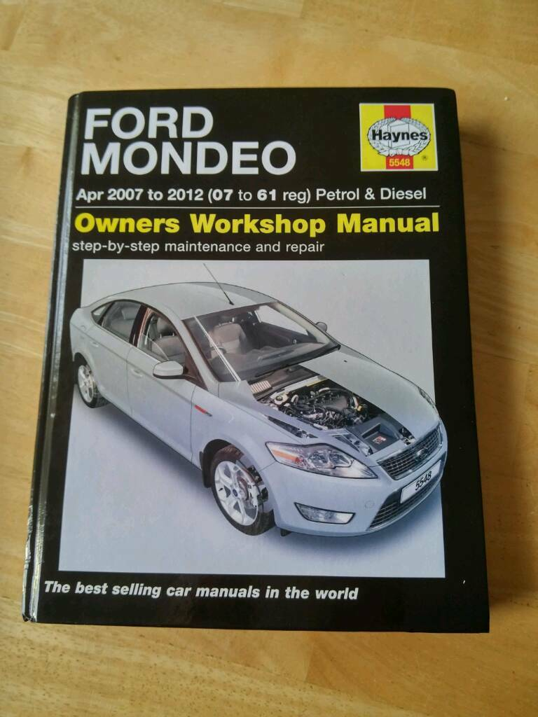 Ford Mondeo workshop manual