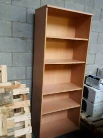 Book cabinet solid wood £35 ono