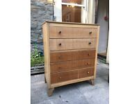 Genuine Lebus Retro Chest of Drawers