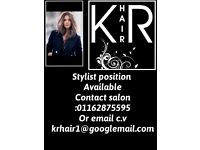 Hairdresser position available,, hairstylist required