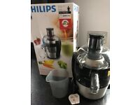 BRAND NEW PHILLIPS VIVA COLLECTION JUICER HR1836 WITH QUICK CLEAN