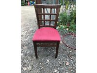 wooden pub chairs (42 available)