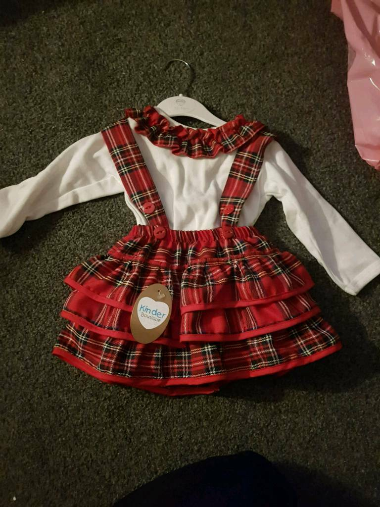 uk availability ce5d7 ff14b Baby girls kinder boutique outfit | in Kensington, Merseyside | Gumtree
