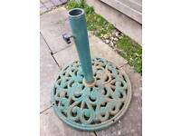 Cast Iron Parasol stand
