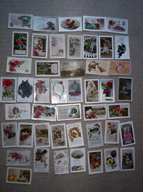 postcards birthdays wedding etc from the 1920s/1930s