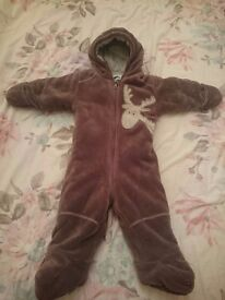 BABY BOY PRAM SUIT( 6-9) MONTHS FOR SALE