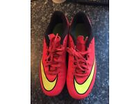 Nike mercurial boots size 6 great condition