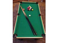 """3ft 6"""" pool table £20"""