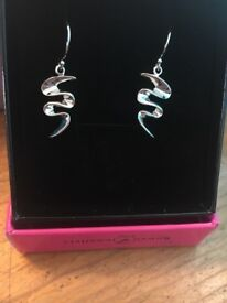 Brand new earrings (I think silver)