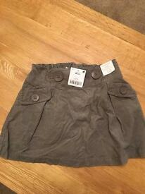 New Next Girls Mink Skirt with tags Age 4-5 years
