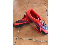 Nike Size UK 9 Grass Football Boots