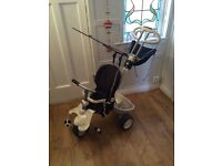 Smart Trike. Black and White. Good condition.