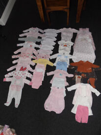 Girls 0-3 Months Clothes & Other Big Bundle