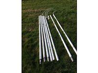Flag Poles Bundle of x4