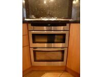 Neff Electric double oven. Under worktop/ counter good condition (Model: U1722)