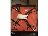 Ryse Tello Dji drone. Flown once. Boxed in as new condition. £80 ono