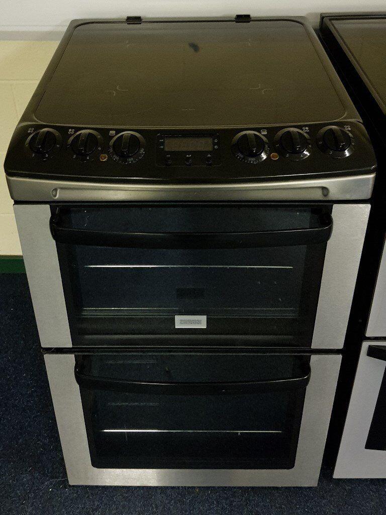 Zanussi 55cm Cooker - 12 Months Warranty - £190
