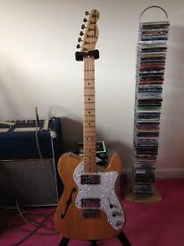 ********Fender Classic 72 Telecaster Thinline Natural Finish*******