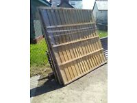 USED fence panels 6x6 only 4 left £10 each pick up only thank you