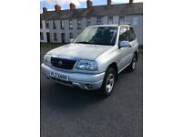 2005 Suzuki Grand Vitara 16V Sport, 3 door, 79,149 miles, tow bar