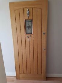 External Hardwood Door - used (Wickes Product Code: 205869)
