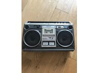 Vintage Hitachi Boombox stereo