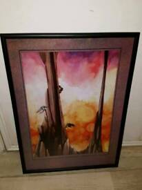 Rick Wakeman (Yes) Framed Artwork