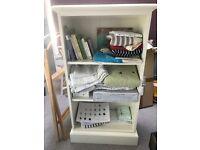 Small oak bookshelf for sale