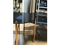 Set of 3 lamp, coffee and console table