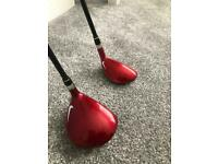 Nike Covert 3wood and hybrid